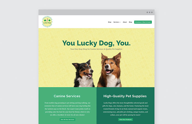 Client Spotlight – Lucky Dogs Canine Services