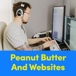 Peanut Butter & Websites