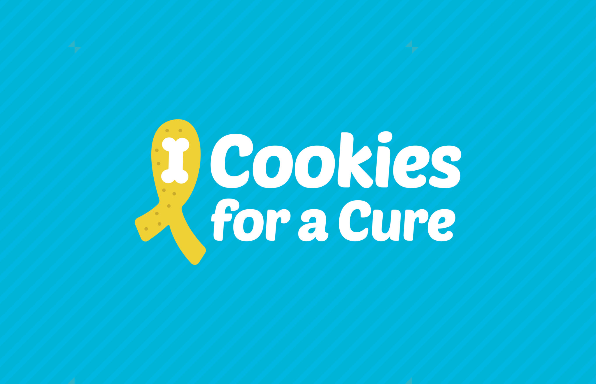 Cookies For A Cure logo, designed by Dox Design
