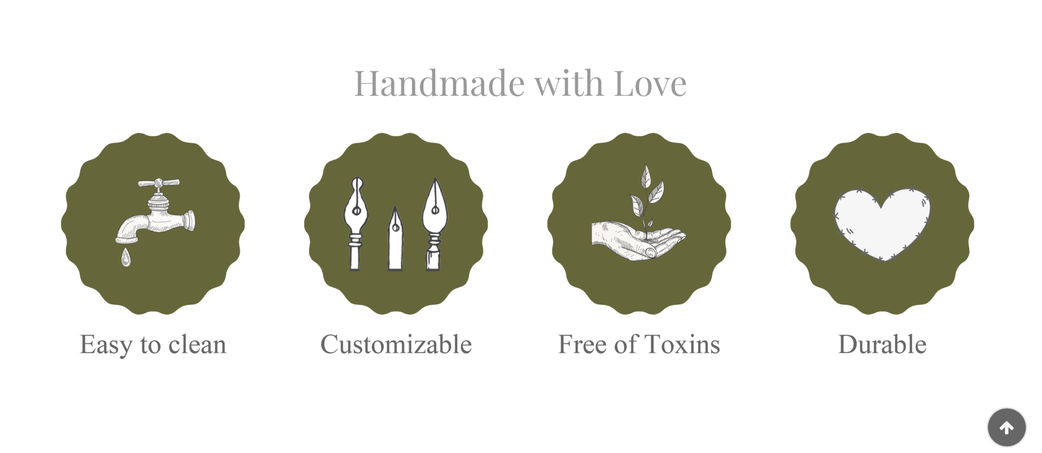 handmade with love icons