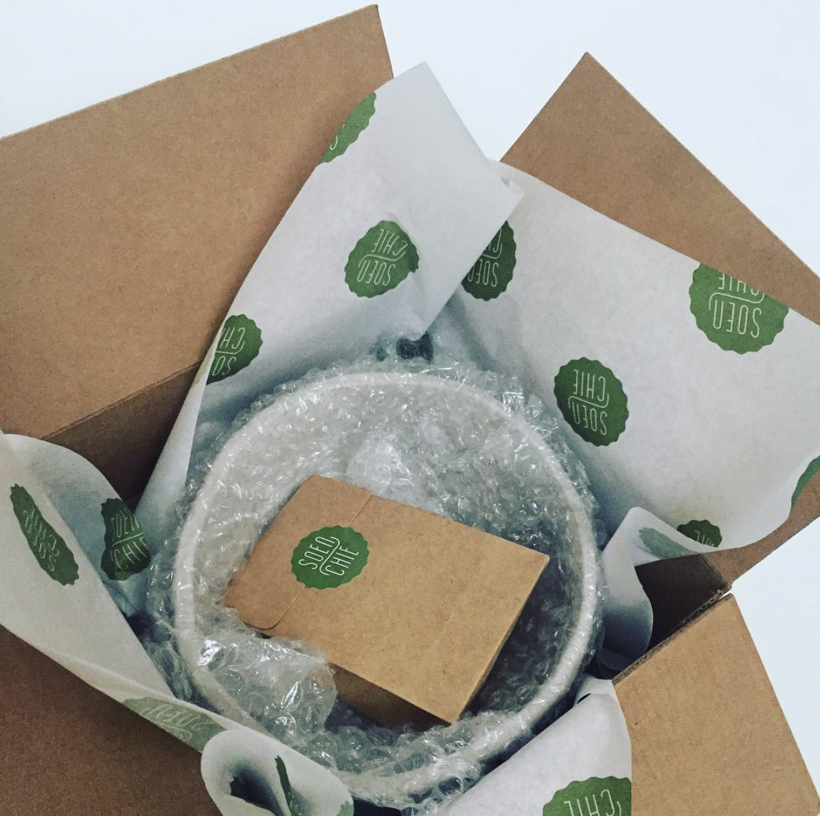 bowl in a gift box
