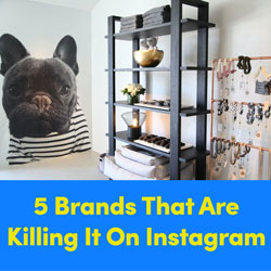 5 Brands That Are Killing It On Instagram