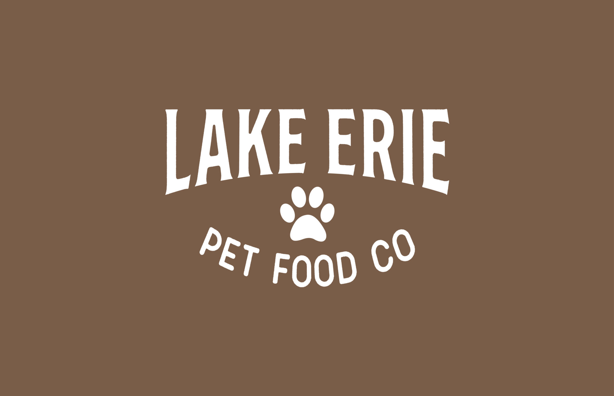 Lake Erie Pet Food Co. logo design by Dox Design