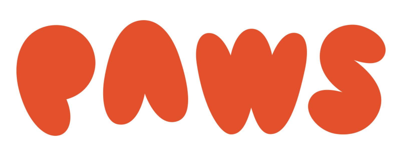 red paws logo