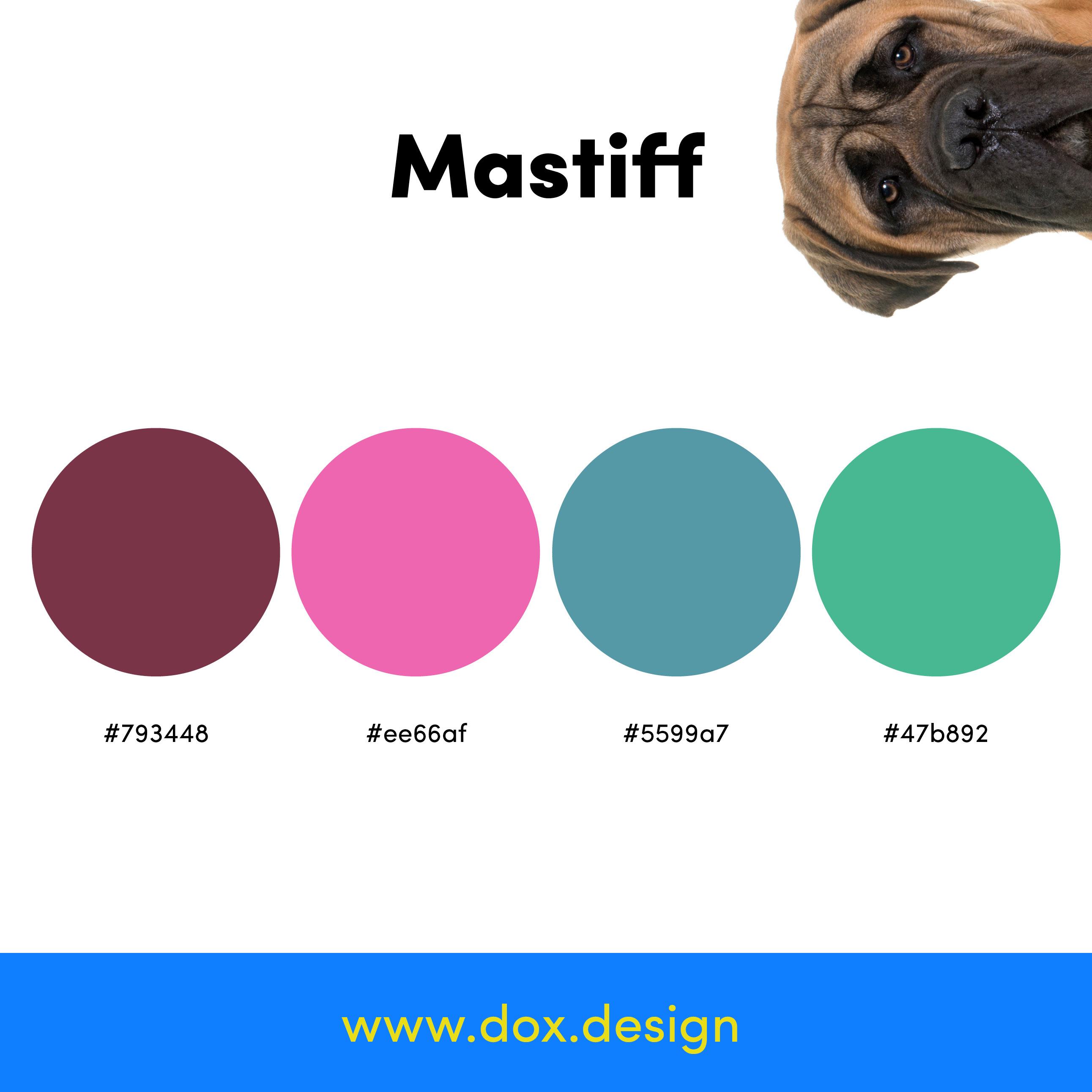 Mastiff color palette