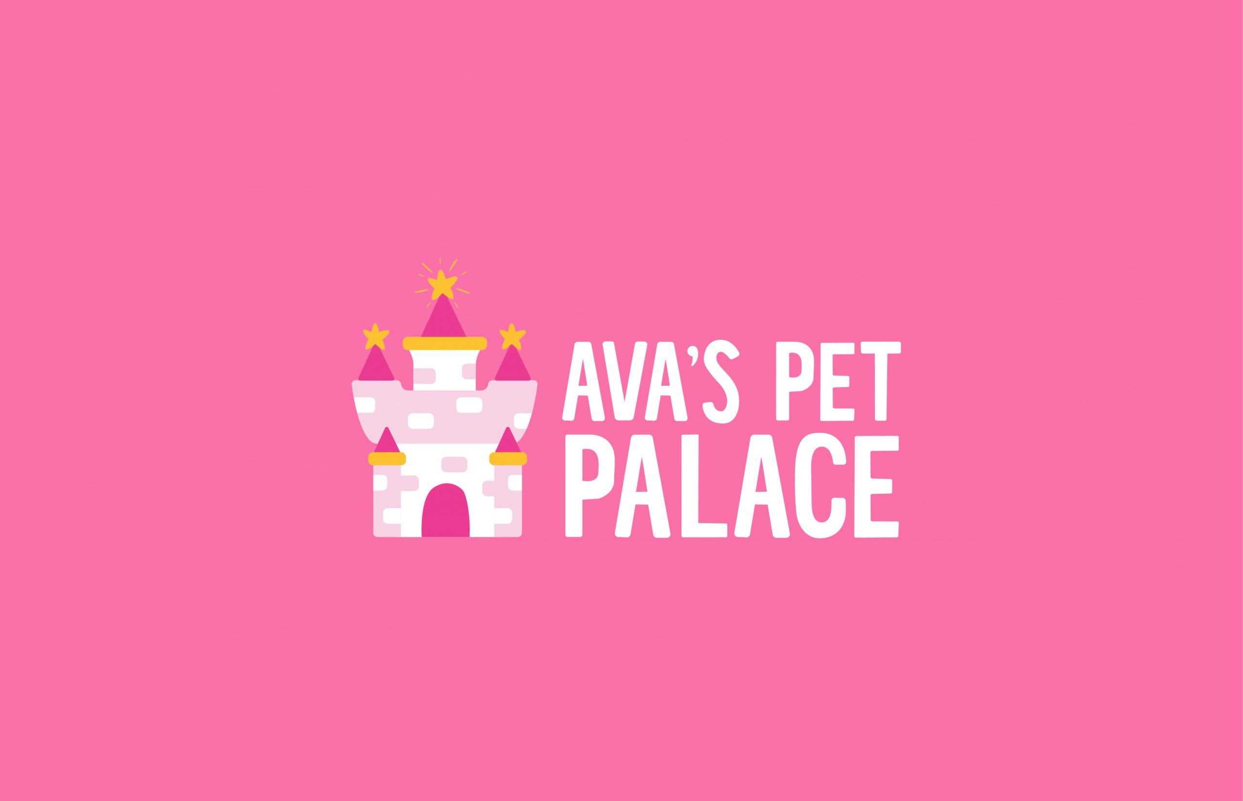 Ava's Pet Palace logo