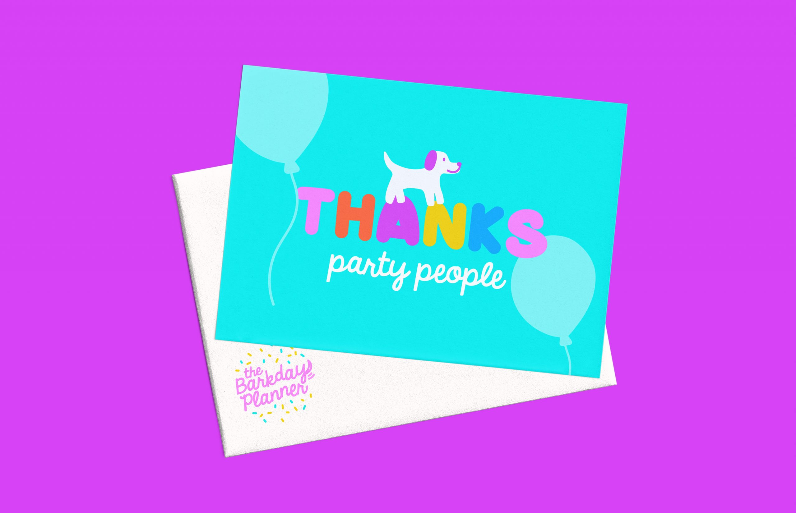 Thanks Party People cards