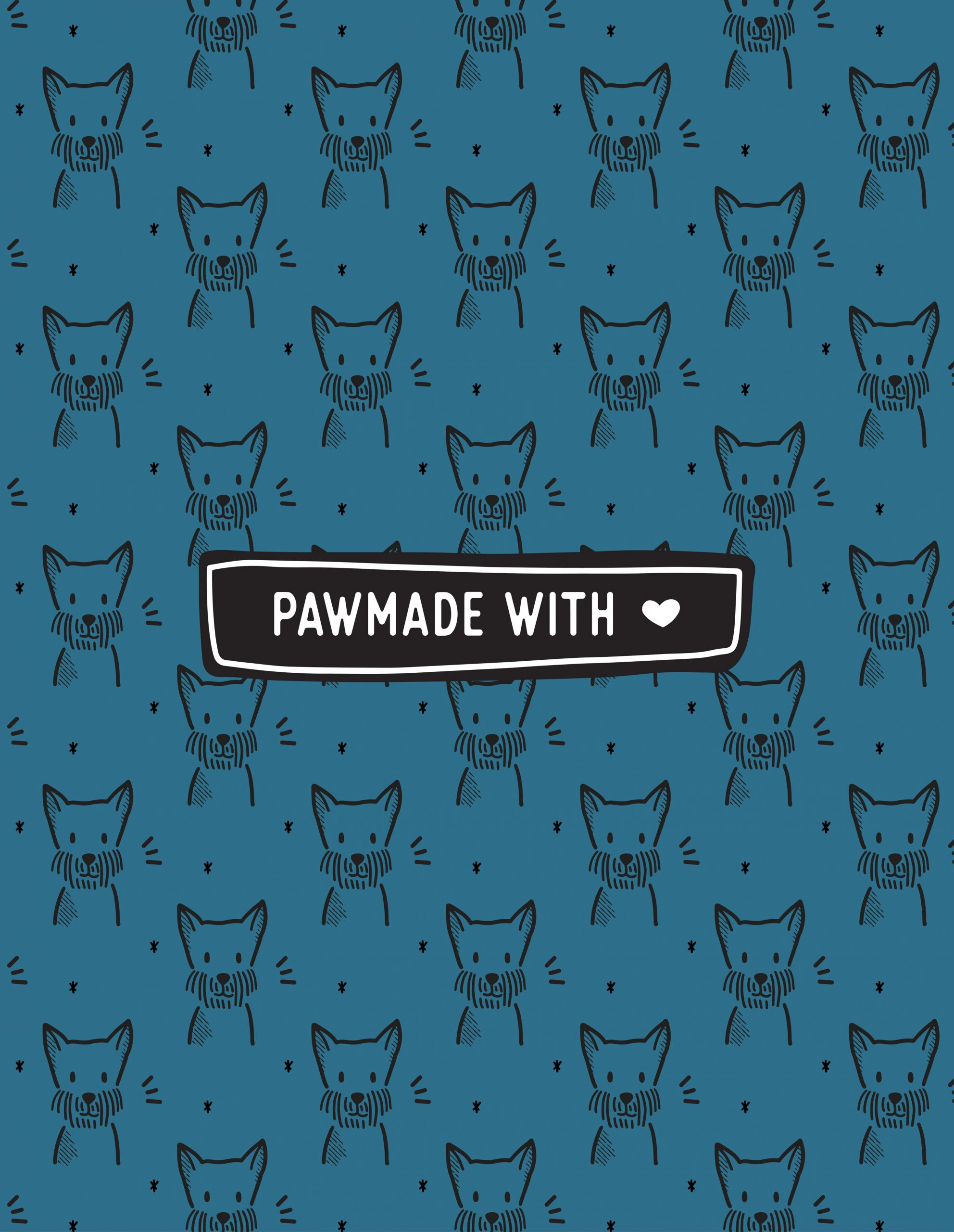 Paw made with love