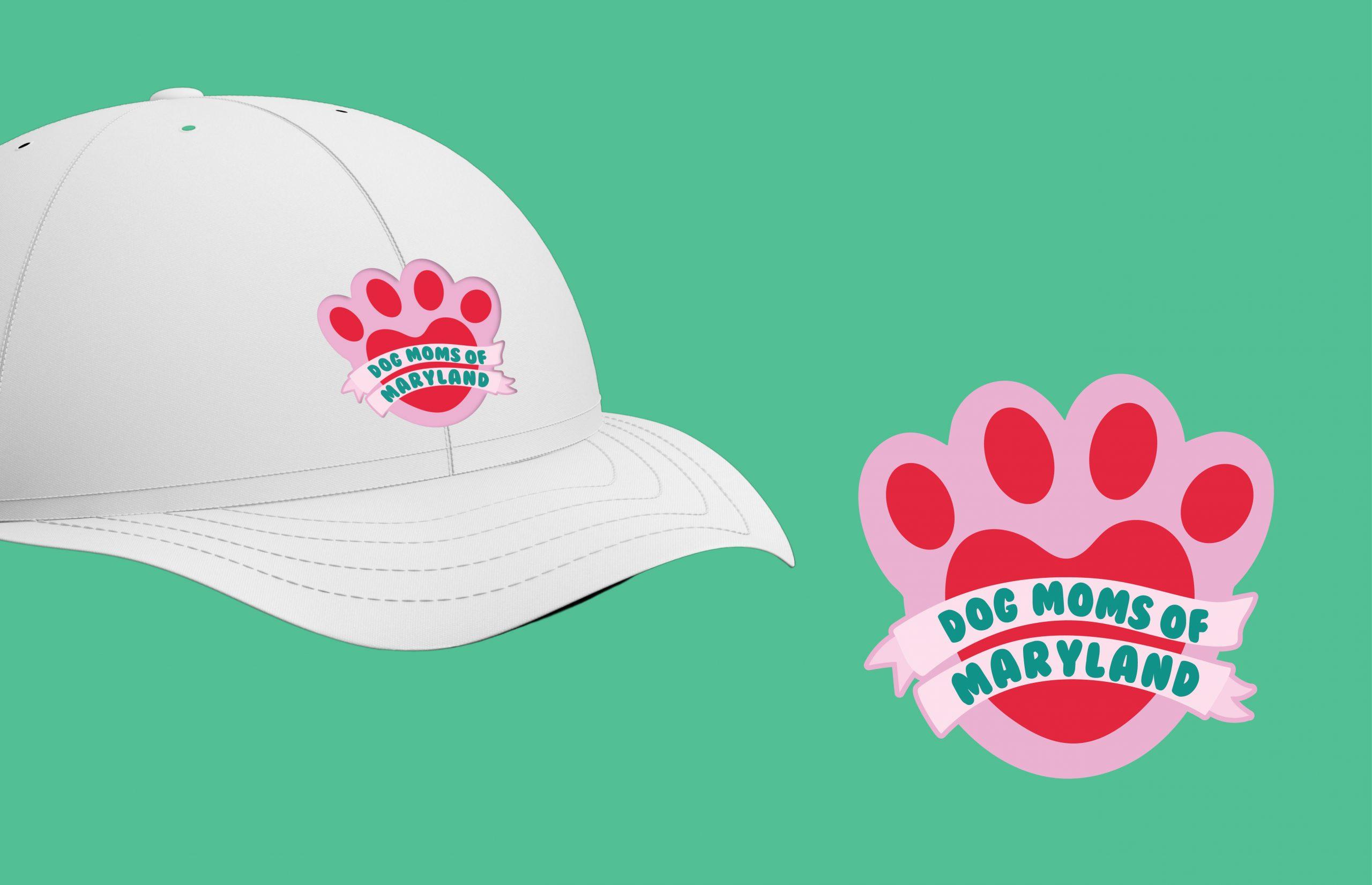 Dog Moms of Maryland hat