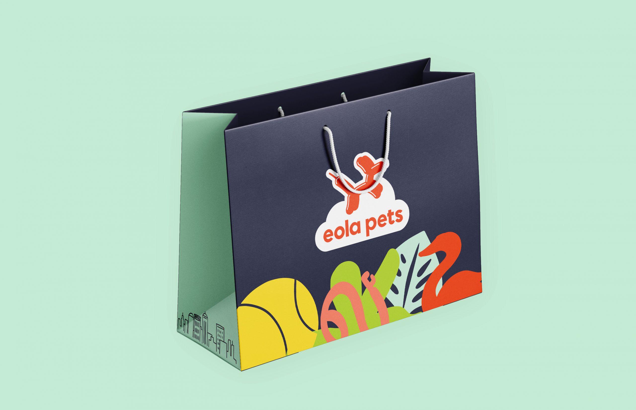 Eola Pets shopping bag