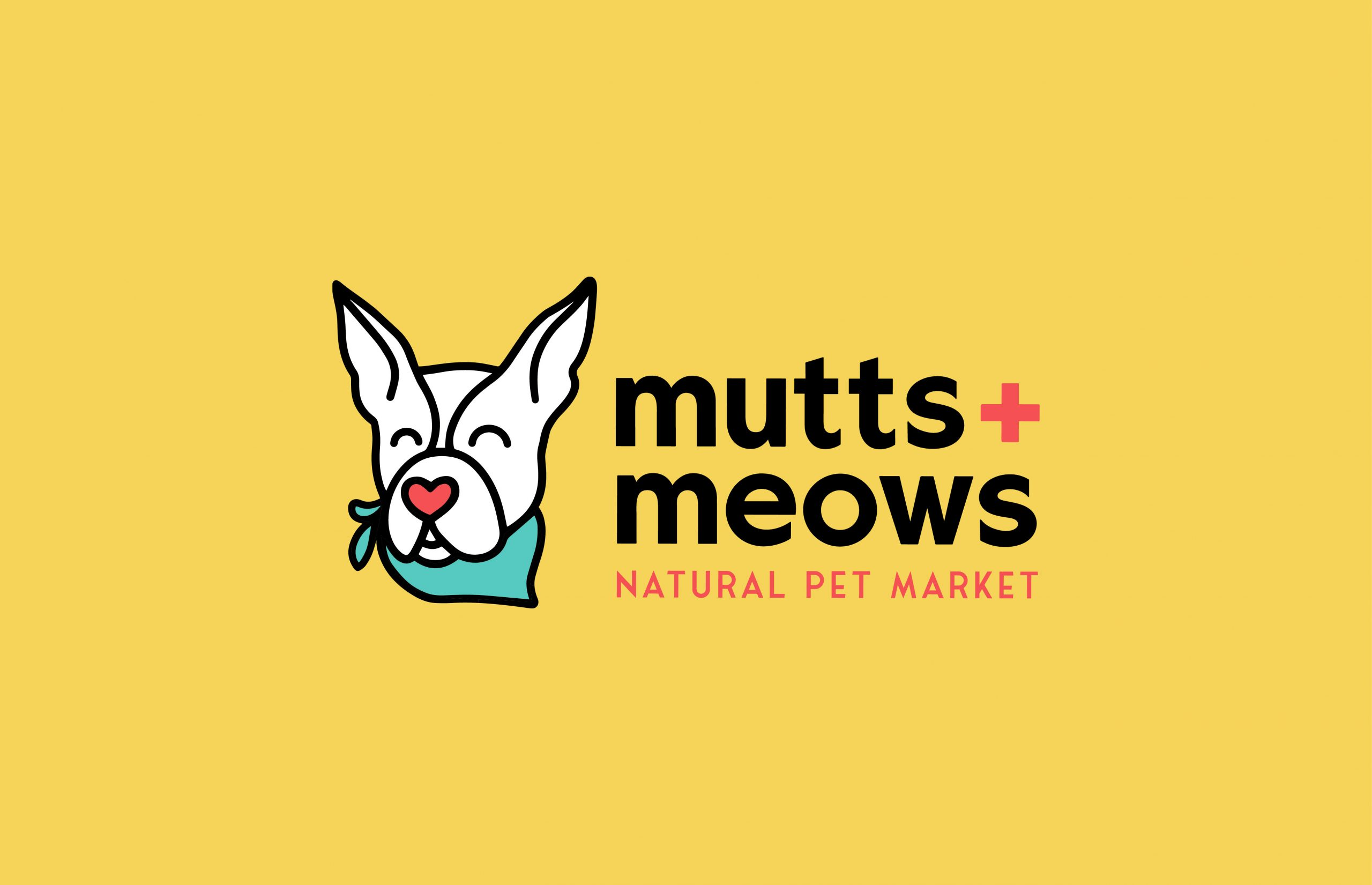 Mutts and Meows Natural Pet Market logo