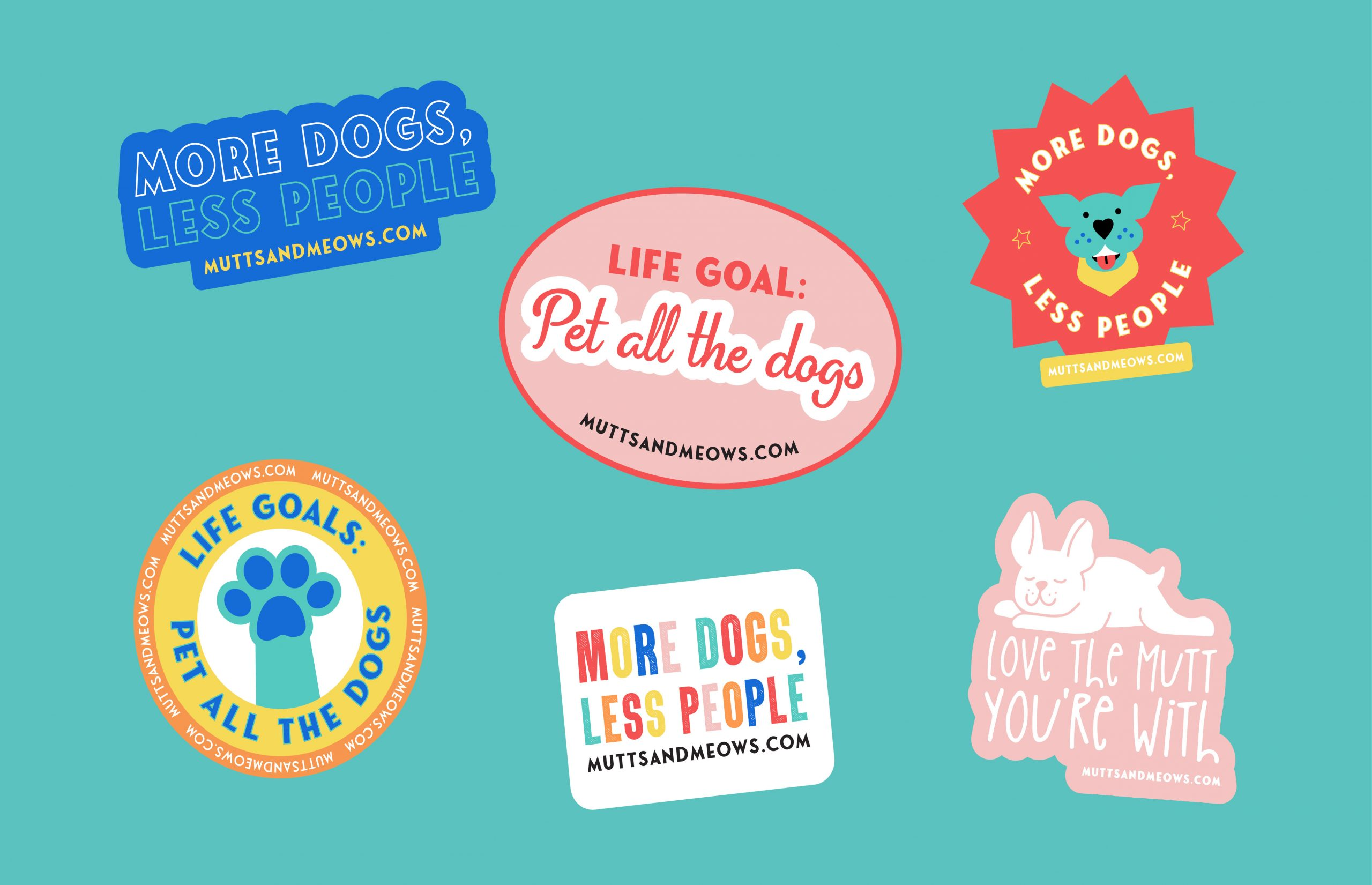 different sticker sayings