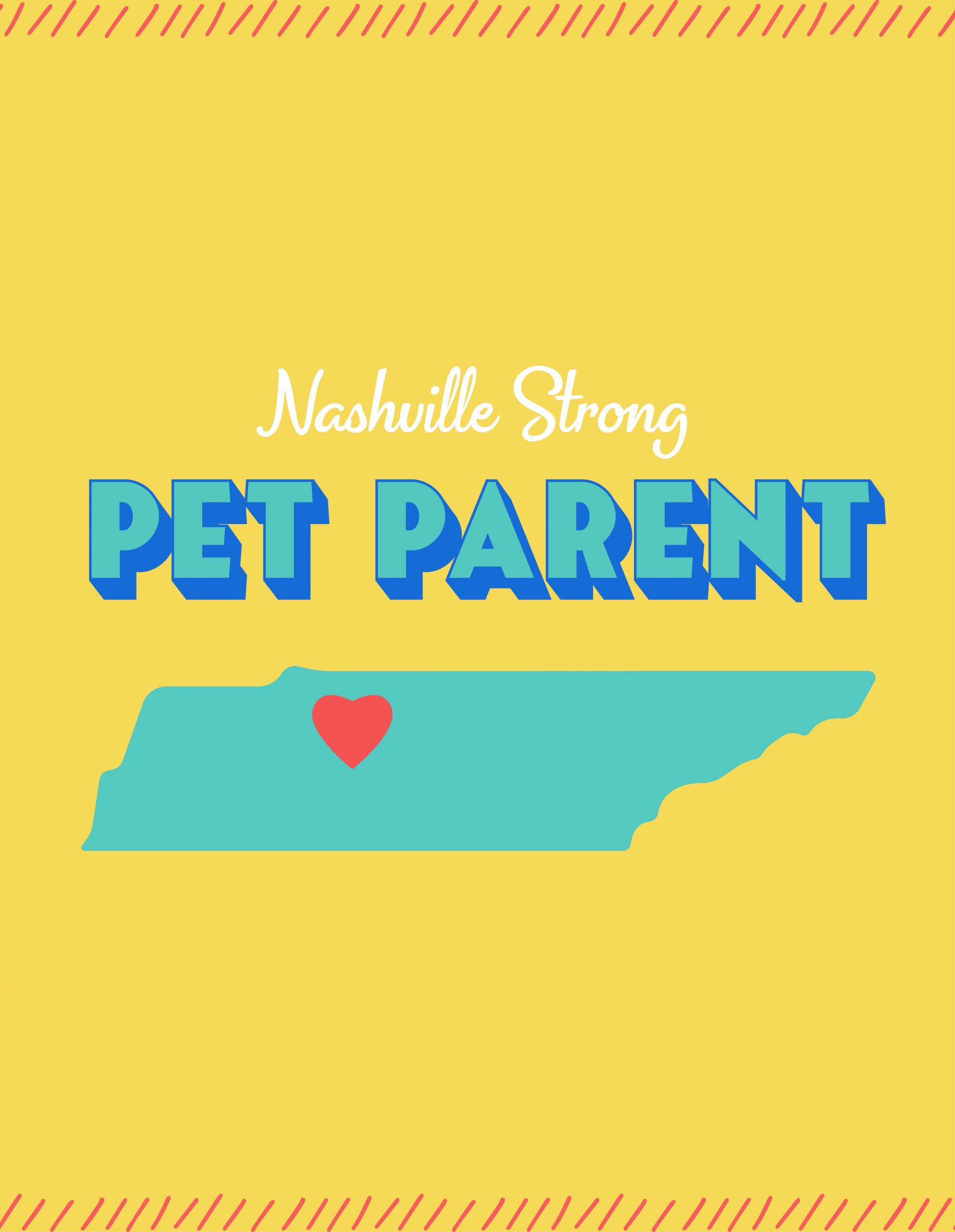 Nashville Strong Pet Parent