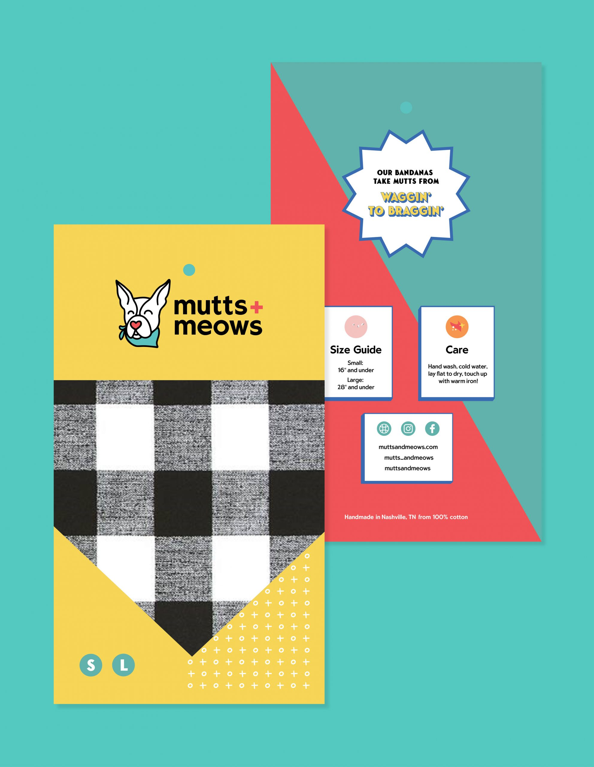 Mutts and Meows flyer