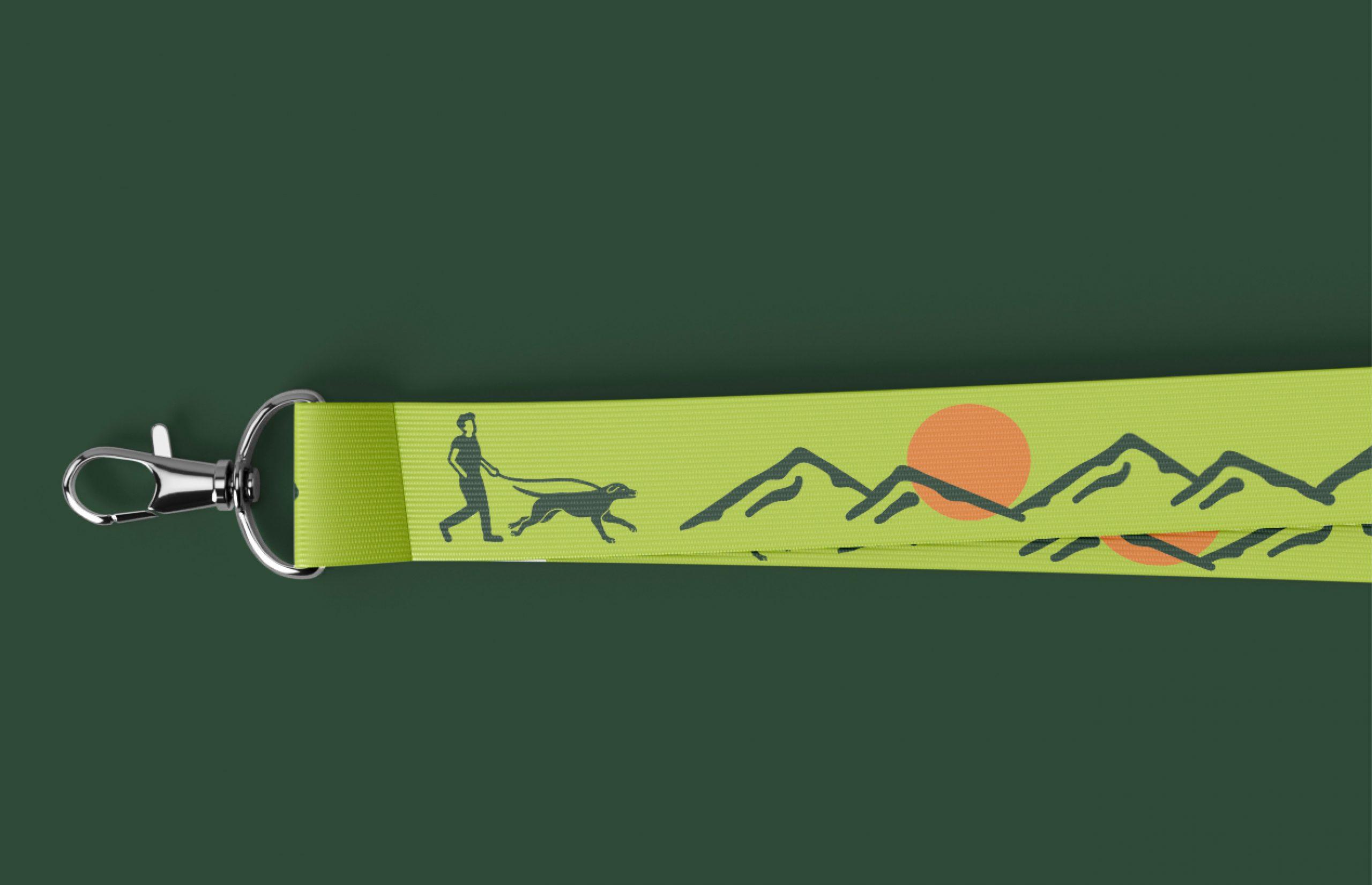 lime green dog leash