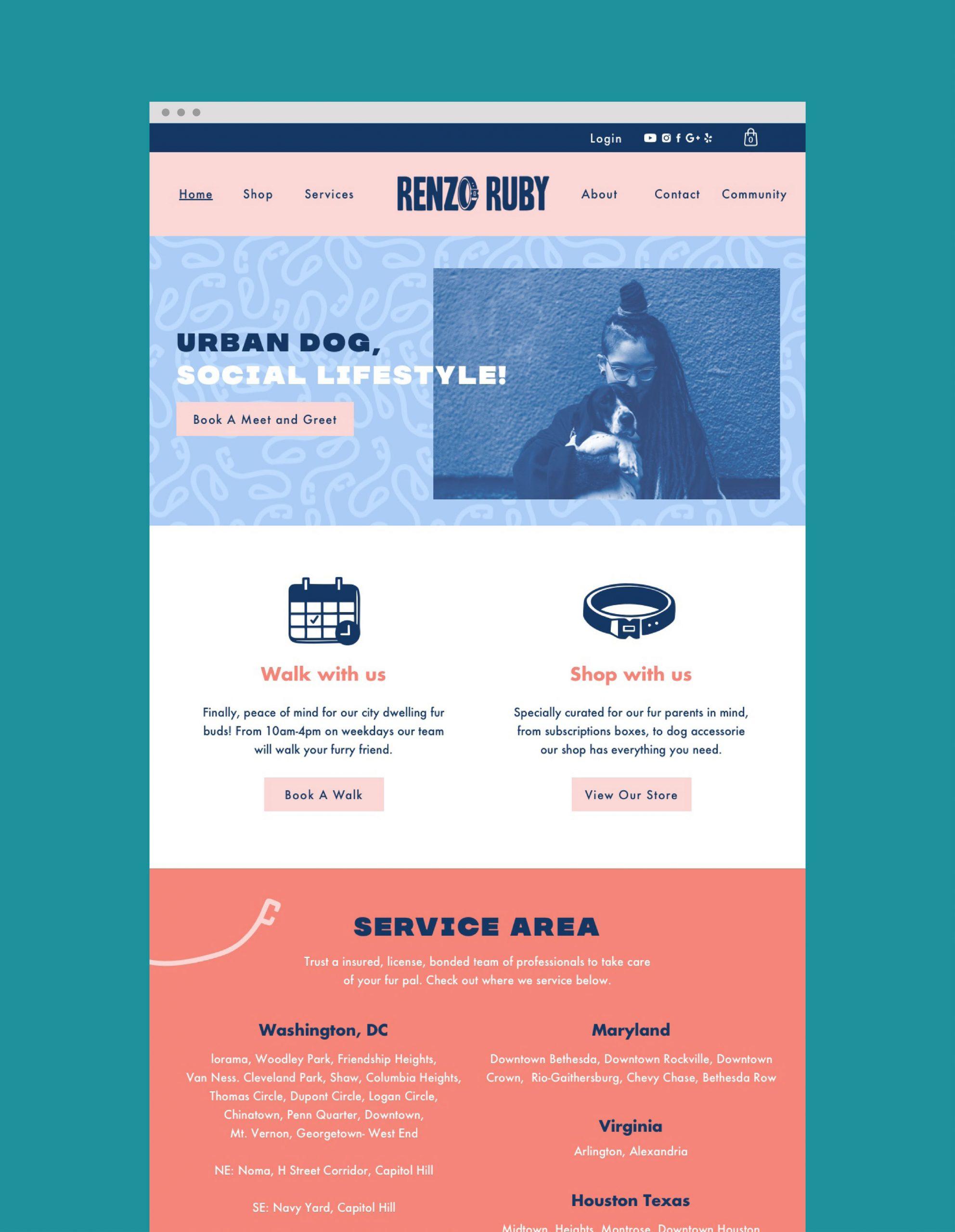 Renzo Ruby website