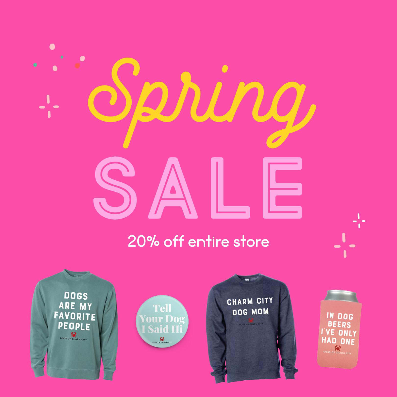 spring sale ad