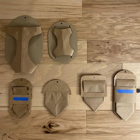 Dog harness package